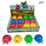 Лизун (Beetle toys) божия коровка с блестками