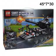 """Конструктор"""" Полицейский """"3в1  Взрывной танк"""" 425 дет."""