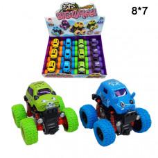 Машинки на больших колесиках (Big Wheel) инерционные с глазками
