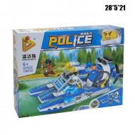 Конструктор (Police) техника 196 дет.
