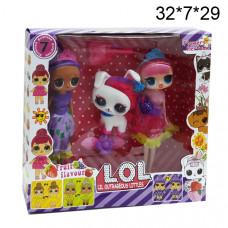 Куклы сюрприз (Lil Outrageous Littles ) с питомцем