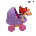 Кукла (Poosie ) в коляске