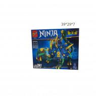 Конструктор ( Ninja) черепаха дракон