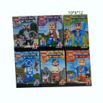 Конструктор (Minecraft Ages Suitable) маленький по 30 руб .