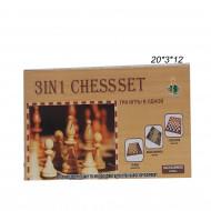 Шахматы 3в1( Chess Set ) маленькие
