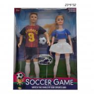 Куклы Футболисты Мальчик Девочка