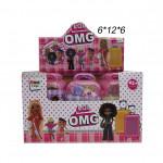 Кукла сюрприз (O M G) в чемодане