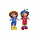 Куклы мягкие в ассортименте мини средние