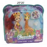 Набор Куклы ( Enchantimals ) с животным в ассортименте