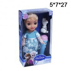 Кукла Фрозен с микрофоном