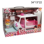 Автобус Kiti с куколками LOL