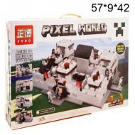 Конструктор Майнкрафт Pixel World 4в1