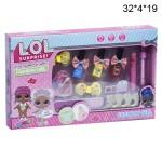 Набор для маникюра  куколок Лол