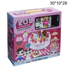 Набор десертный (тортик) куколок Лол Большой