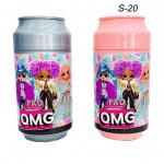 Кукла сюрприз ( F.A.D.OMG) в банке Пепси большой