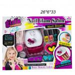 Набор для ногтей ( Nali Glam Salon ) с лампой