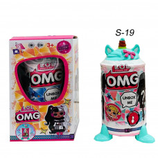 Кукла сюрприз ( OMG) Единорог в тубусе