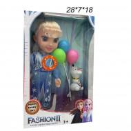 Кукла (Fashion2 ) Эльза и Анна  с шариками и снеговиком