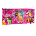 Набор куклы с платьями (Angelor Beautiful)