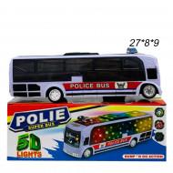 Автобус ( Polie) Полицейский музыкальный светящиеся