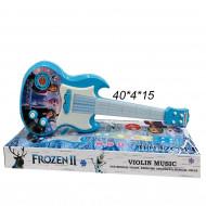 Гитара музыкальная ( Frozen 2) светящиеся