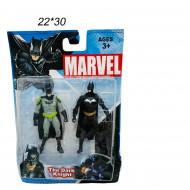Фигурки Бэтман на блистере 2 шт.
