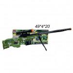 Автомат (Sniper Gun) военный музыкальный светящиеся