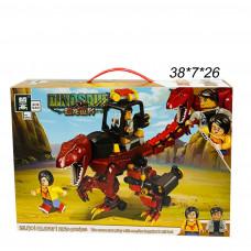 Конструктор Динозавр в атаку 272 дет.