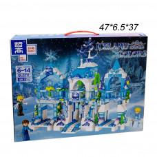 Конструктор ( Iceland Colors) Снежная Королева Замок 463 дет