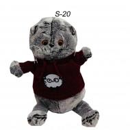 Котик Басик в свитере маленький