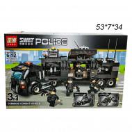 """Конструктор ( Swat Police )  """"Полицейский фургон трансформер"""" 715 дет"""