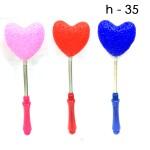 Палка Сердечко сахарная светящаяся 6 шт. по 90 руб.