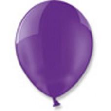 Шары (12/30см) фиолетевые 100 шт.