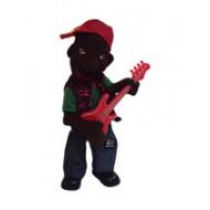 Интерактивный Негр с гитарой