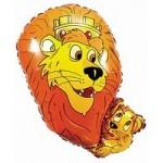 Шар (13/33 см) Мини-фигура, Король-лев, Желтый, 1 шт.