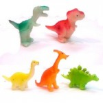 Динозавры пищащие маленькие (набор 5 шт.)