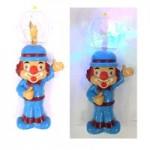 Микрофон Клоун светящиеся, музыкальные