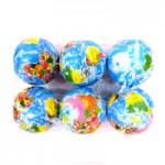 Мяч поролоновый (большой) Глобус 6 шт. по 42 руб.