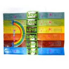 Браслет светящийся Love 6 шт. по 48 руб.