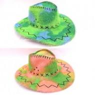 Шляпа Ковбой Цветная