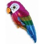 Шар (35/89 см) Фигура, Супер попугай, 1 шт.