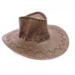 Шляпа Ковбой Иероглифами