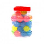 Мяч каучук Маленькие В банке 24 шт. по 21 руб.