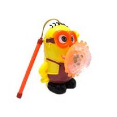 Миньон игрушка с проектором музыкальный, светящийся
