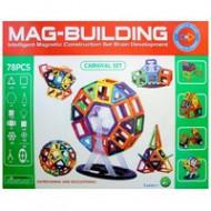 Магнитный конструктор MAG BUILDING 78 деталей