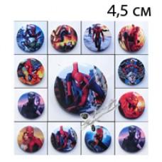 Значки Человек паук