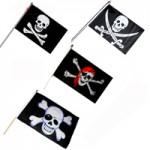 Флаг Пирата 20*15 см.
