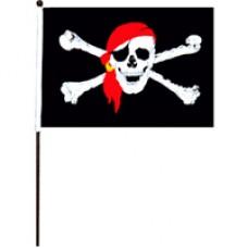 Флаг Пиратский 62*40 см.
