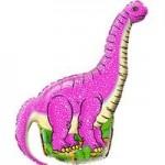 Шар (16/41 см) Мини-фигура, Динозавр диплодок, Фуше, 1 шт.